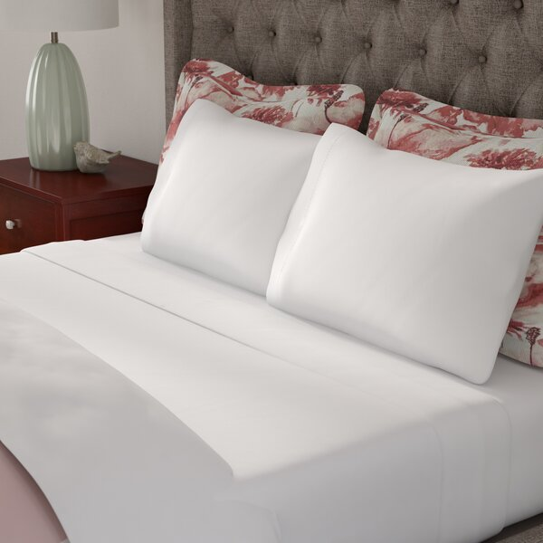 Ratchford Hemstitch 500 Thread Count 100% Cotton Sheet Set by Andover Mills